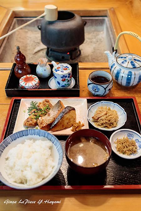 料理の風景 黄金漬け定食_b0133053_01005511.jpg