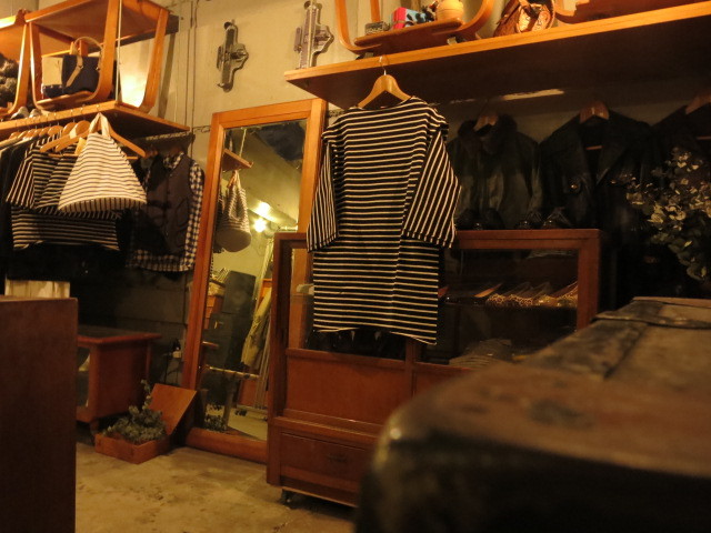 """SOURCE-TAP × TheThreeRobbers EZ Cut T Dress(Marinier Long)BLACK/NATURAL\""ってこんなこと。_c0140560_20351102.jpg"