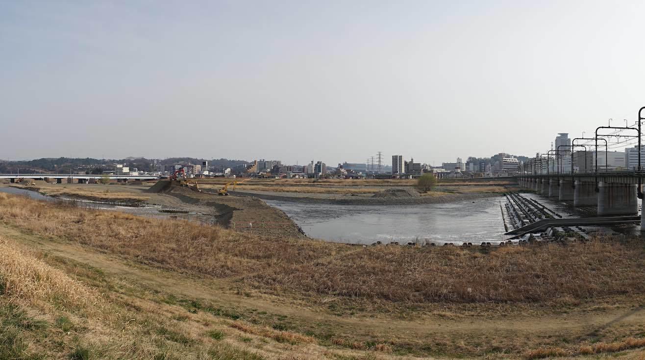 関戸橋架替工事 4_b0360240_18490037.jpg