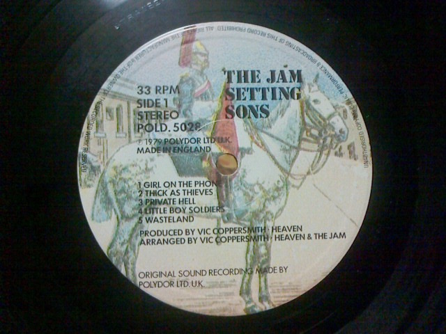 Setting Sons / The Jam_c0104445_20303746.jpg
