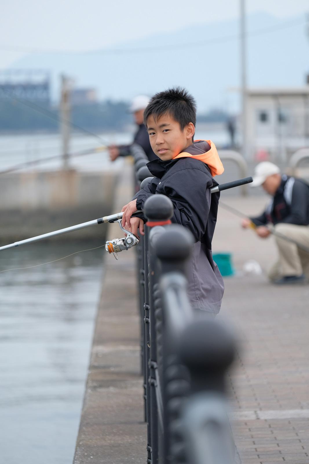 魚釣りに同行。_a0129474_17084299.jpg