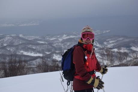 2017年1月22日塩谷丸山岳を滑る_c0242406_12463390.jpg
