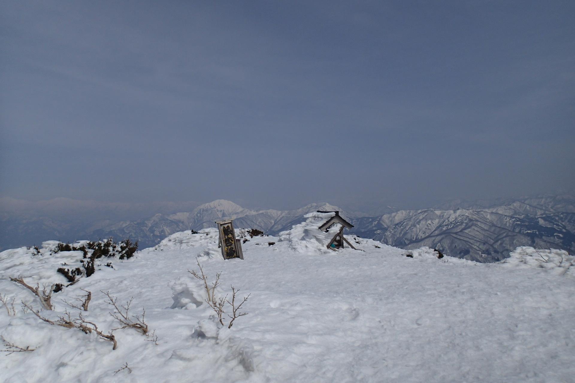 銀杏峰から部子山_e0360016_19472447.jpg