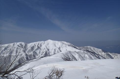 銀杏峰から部子山_e0360016_19521011.jpg