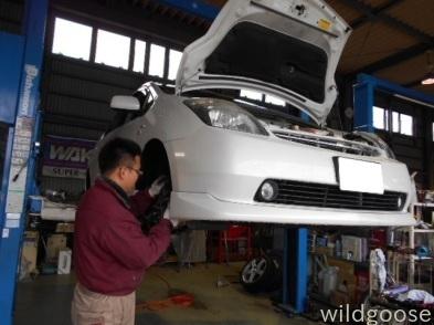 JB23 ジムニー 7型展示車両作製中&プリウス車検整備中(。・´∀・`)ノ_c0213517_14345424.jpg