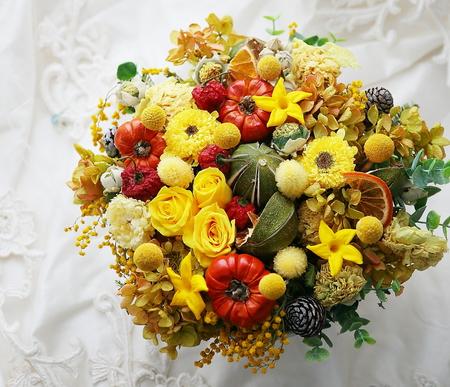 花のギフト 文学座様への御祝      ブーケの満足保証とせいいっぱいの誠意について_a0042928_21454694.jpg