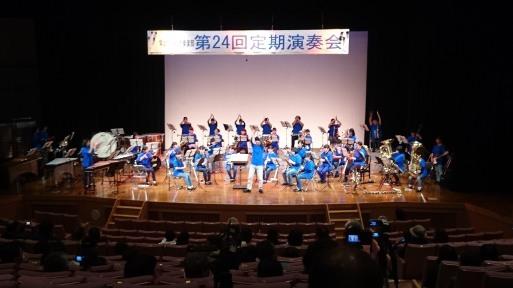 常北中学校 吹奏楽部 第24回定期演奏会 2017/3/19_a0039934_18150509.jpg