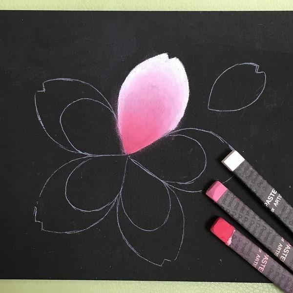コルトンワークショップ3月 内容紹介 ★チョークアートで桜のウエルカムボードを作ろう!_e0239948_08103922.jpg