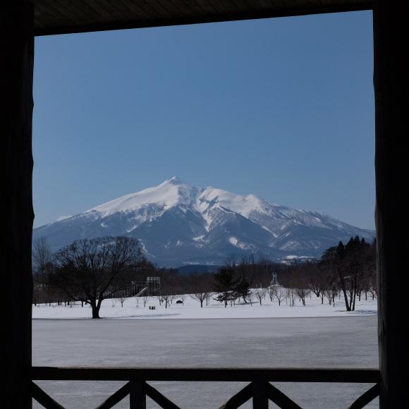 鶴の舞橋から見る岩木山2題_e0220159_01455642.jpg