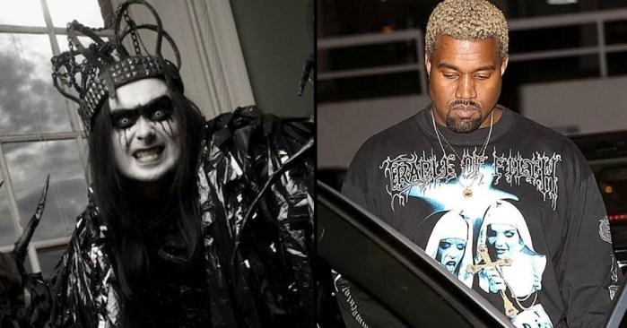 Kanye West、Cradle of FilthのT...