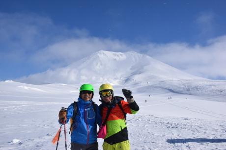 2017年2月5日サンピラーの舞う大雪山旭岳で滑る_c0242406_17111840.jpg