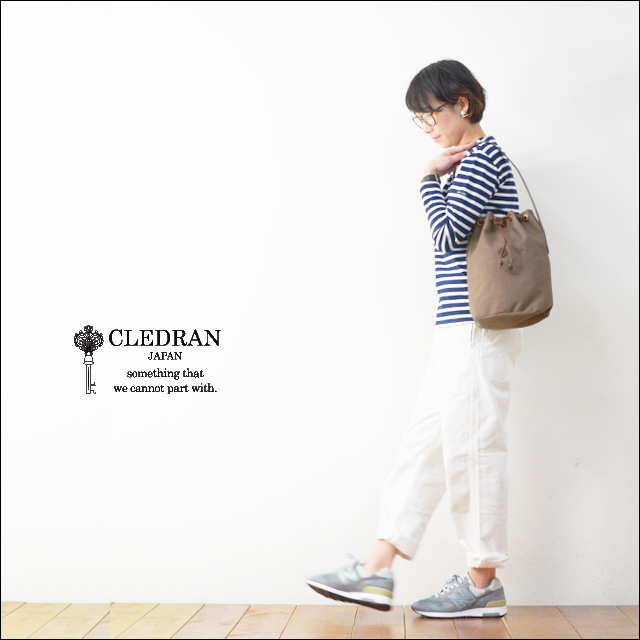CLEDRAN [クレドラン] CAPU HARLF SHORLDER BAG [CL-2631][81-3620/3621/3622] LADY\'S_f0051306_19002644.jpg