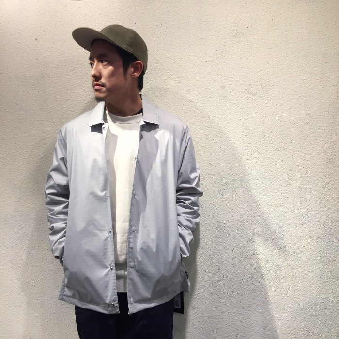 "Reigning Champ ""Coach Jacket\""_b0121563_17200338.jpg"