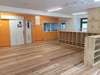 木の実保育園新保育室改装工事完了 _d0059977_19522494.jpg