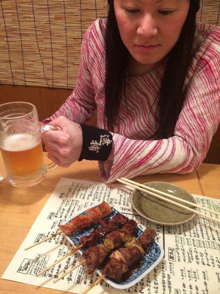 志木駅前の居酒屋文蔵、白水麦焼酎一升半額中!美味い!_d0061678_13092476.jpg