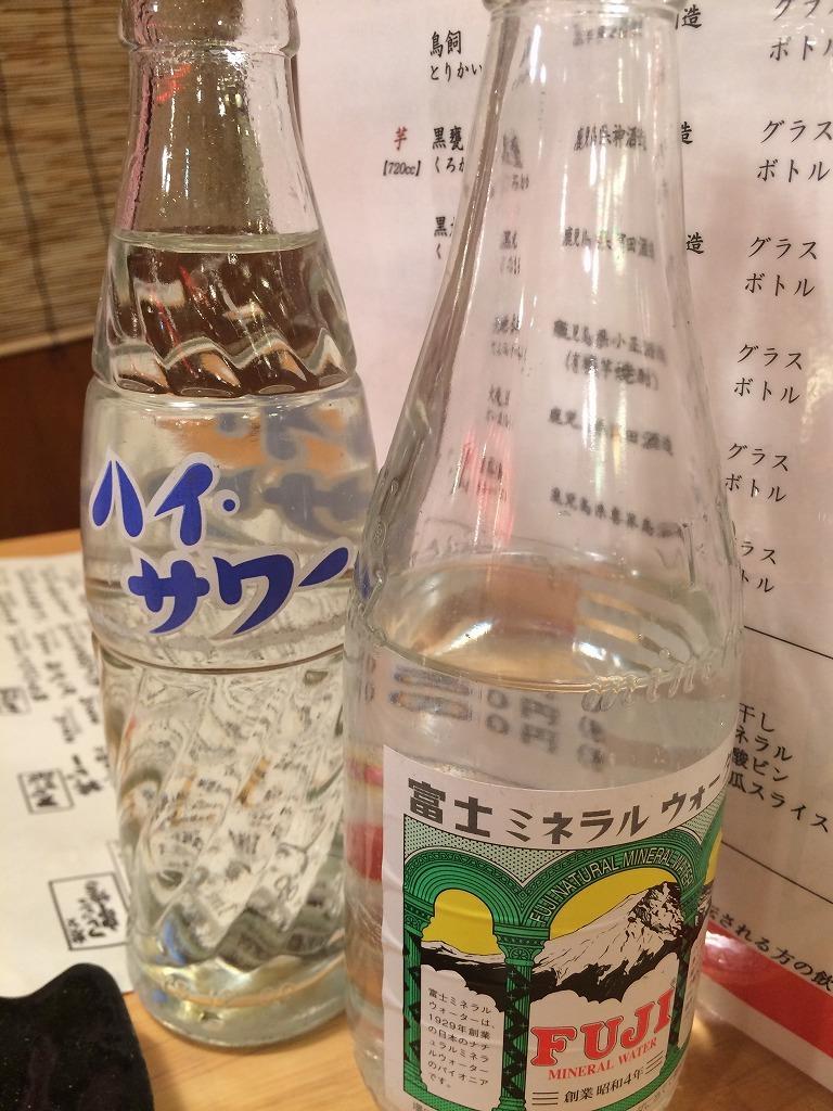 志木駅前の居酒屋文蔵、白水麦焼酎一升半額中!美味い!_d0061678_13415136.jpg