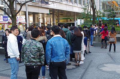 3月22日(水)今日の渋谷109前交差点_b0056983_16025591.jpg