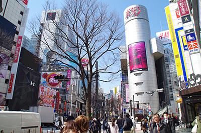 3月22日(水)今日の渋谷109前交差点_b0056983_16025616.jpg