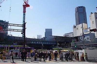 3月22日(水)今日の渋谷109前交差点_b0056983_16052309.jpg