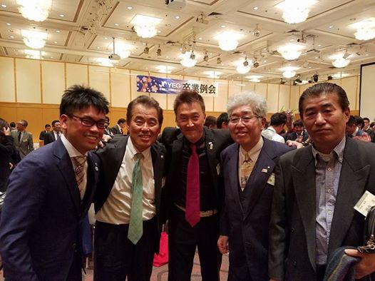 高知YEGの宅間君と秋山君の卒業式を見送るため久し振りの出席。_c0186691_11312287.jpg