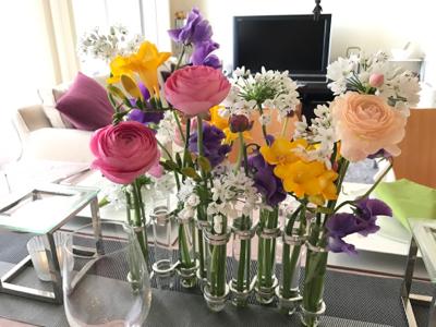 3月のテーブル♡&お花を長持ちさせるコツ_b0107003_19270310.jpg
