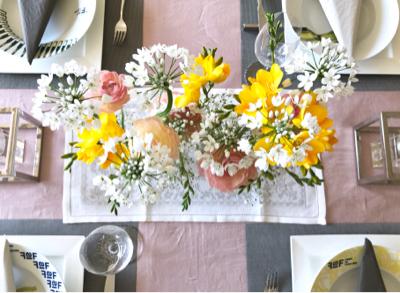 3月のテーブル♡&お花を長持ちさせるコツ_b0107003_19270333.jpg