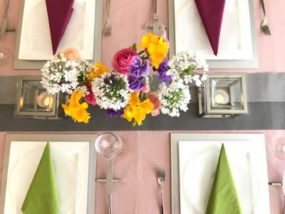 3月のテーブル♡&お花を長持ちさせるコツ_b0107003_19270436.jpg