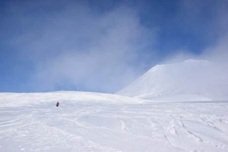 2017年2月5日サンピラーの舞う大雪山旭岳で滑る_c0242406_16455140.jpg