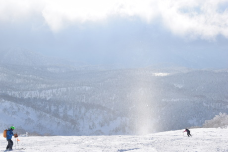 2017年2月5日サンピラーの舞う大雪山旭岳で滑る_c0242406_16475923.jpg