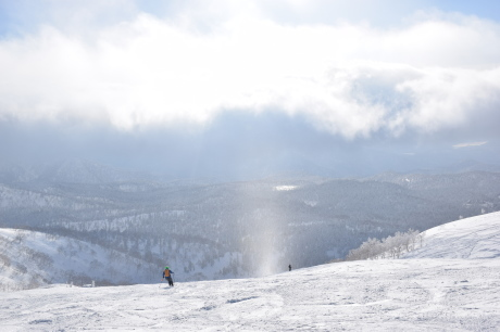 2017年2月5日サンピラーの舞う大雪山旭岳で滑る_c0242406_16484312.jpg