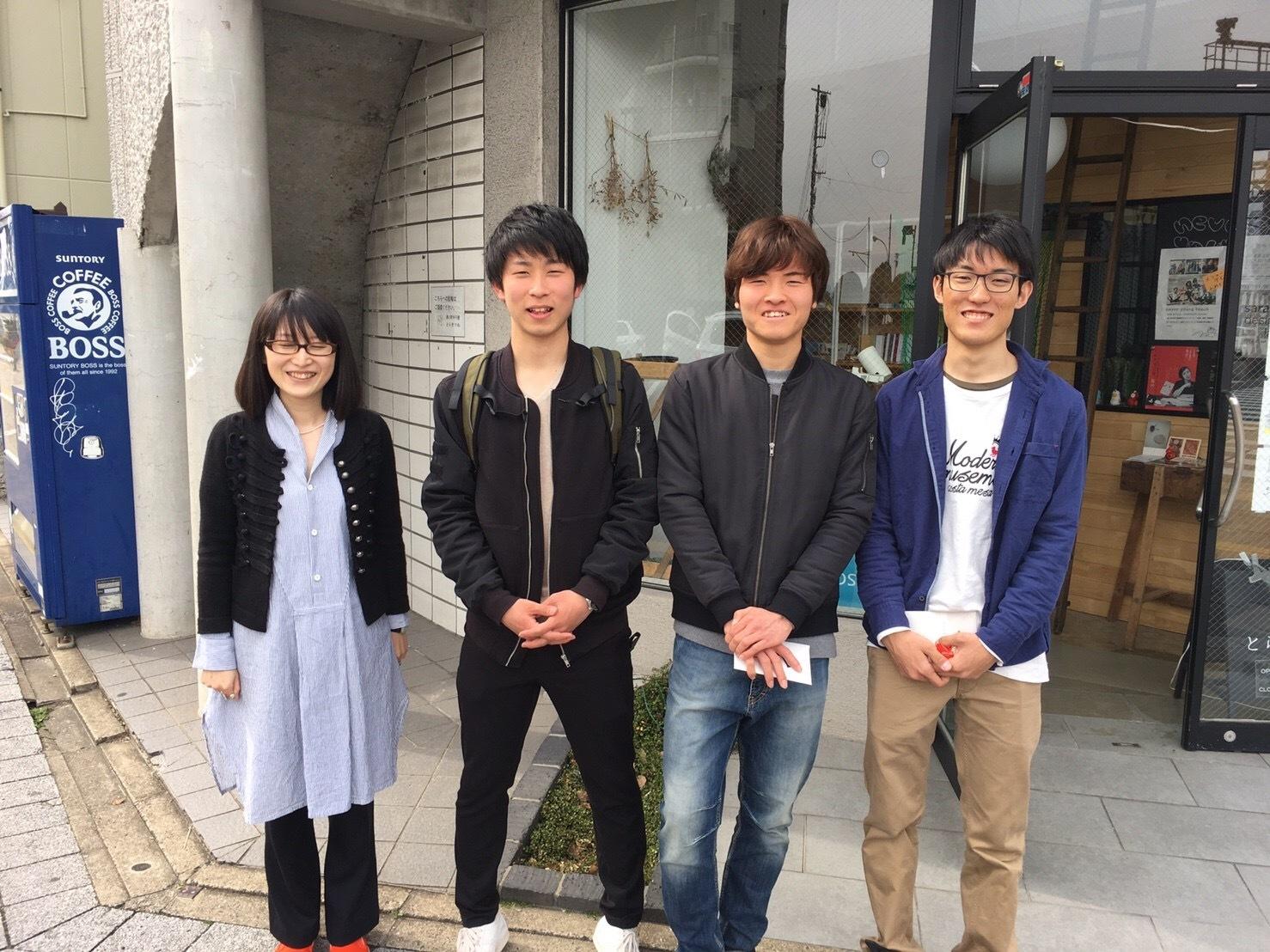 中学コース、高校コースの送別会が開かれました。_d0116009_14091684.jpg