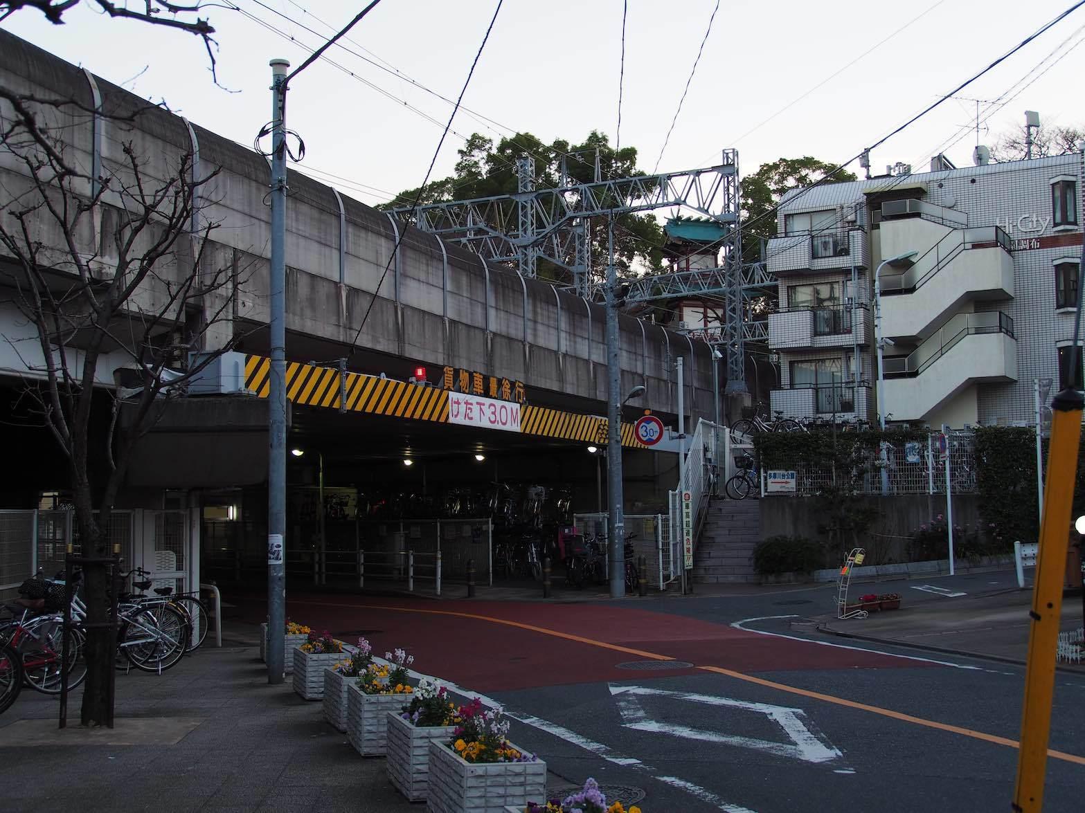 東急多摩川駅周辺13_b0360240_23512761.jpg