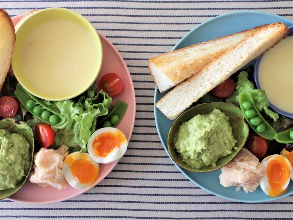 春サラダとアボカドディップ♡_f0220354_08591205.jpg