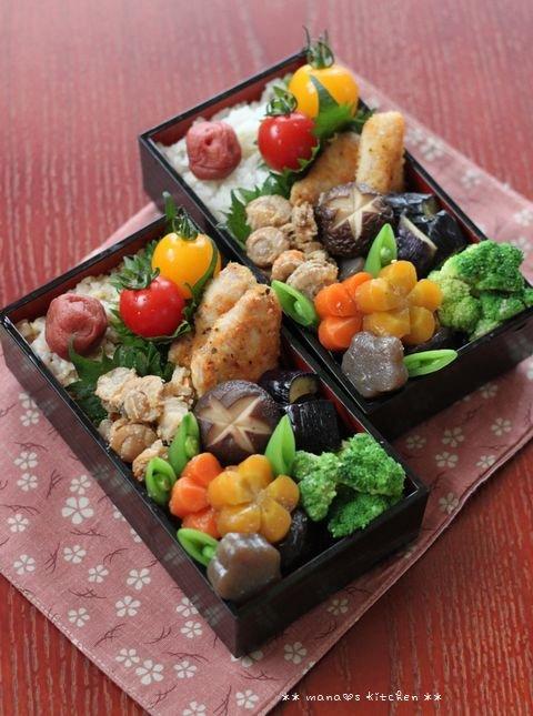 まぐろのパン粉焼きと常備菜 ✿ 親子丼(๑¯﹃¯๑)♪_c0139375_11353216.jpg