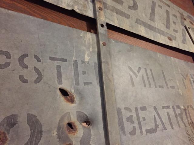 3月25日(土)大阪店Vintageミリタリー&インダストリアル雑貨入荷!#3 ~20\'s!Dempster&Exam Table!!_c0078587_23145816.jpg