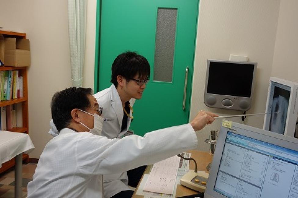 藤田保健衛生大学医学部学生さんとの臨床実習_a0152501_07285918.jpg