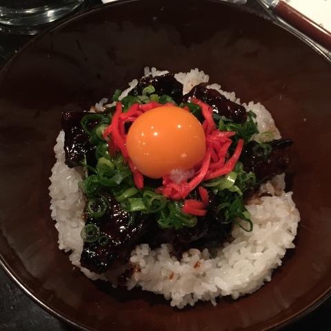 UP でアップアップの肉漬け丼_e0115904_12195106.jpg