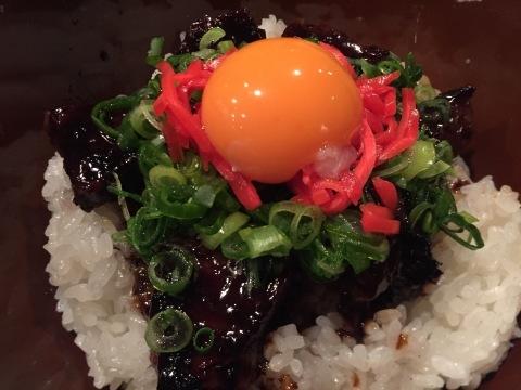 UP でアップアップの肉漬け丼_e0115904_12195379.jpg