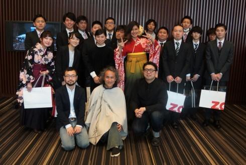 東京造形大学学位授与式&卒業祝賀会_f0006713_22541007.jpg