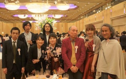 東京造形大学学位授与式&卒業祝賀会_f0006713_22543641.jpg