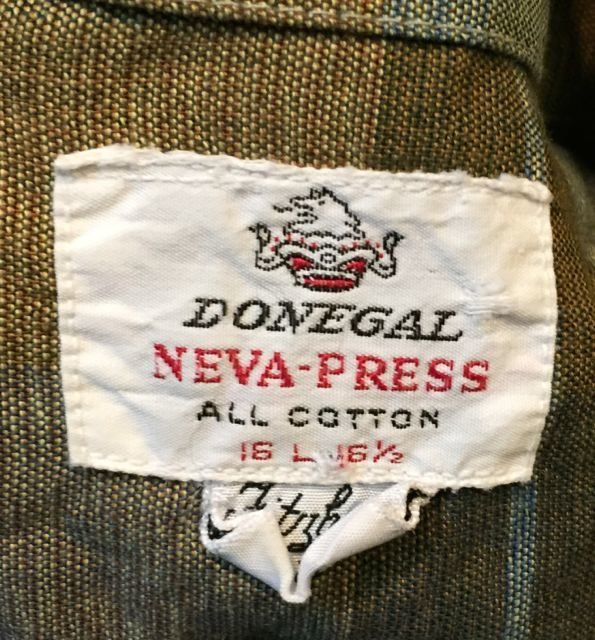 3月25日(土)入荷情報!60s DONEGAL all cotton shirts!_c0144020_15220544.jpg