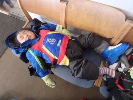 祝!! さんぽ、スキーデビュー!!_f0101226_00105929.jpg