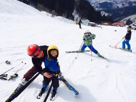 祝!! さんぽ、スキーデビュー!!_f0101226_00132845.jpg