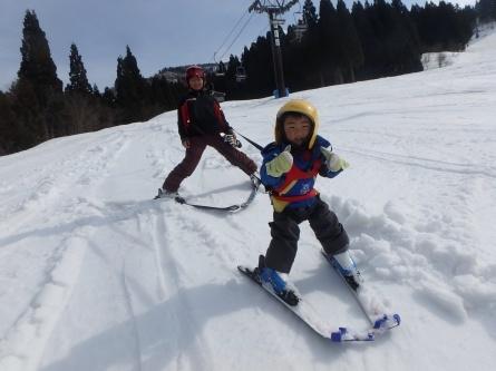 祝!! さんぽ、スキーデビュー!!_f0101226_00155022.jpg