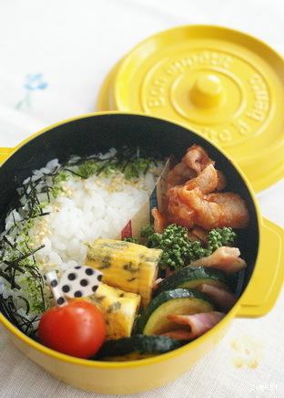 今日の豚肉ケチャップ炒め弁当とお弁当作りのコツ_d0327373_10351736.jpg