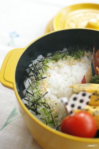 今日の豚肉ケチャップ炒め弁当とお弁当作りのコツ_d0327373_10352802.jpg