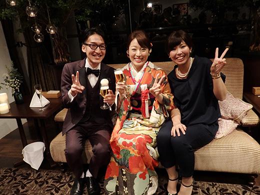 極上ビンテージ振袖にタキシードがオシャレ☆素敵なご婚礼のお客様_b0098077_16521044.jpg
