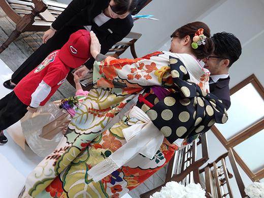 極上ビンテージ振袖にタキシードがオシャレ☆素敵なご婚礼のお客様_b0098077_16521463.jpg