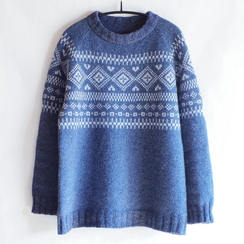Yoke Nordic Sweater Pattern 85