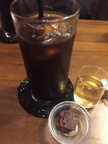 喫茶 1er ぷるみえ  (高菜と鶏そぼろご飯中華あんかけソース)_e0115904_15171245.jpg